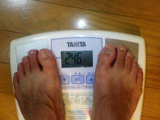 あぁ、体脂肪率!